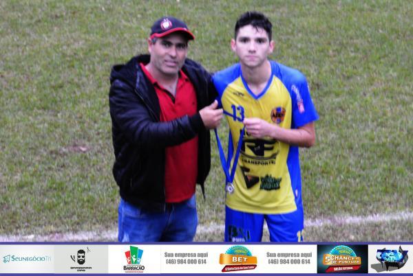 Fernando Mariano foi eleito o melhor em campo no jogo entre Boca Jr. Barracão e Alvorada