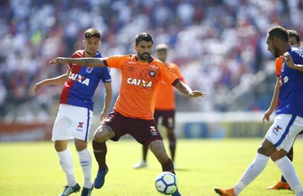 Atrás no retrospecto, Paraná iguala o rival Atlético-PR em confrontos diretos pela Série A
