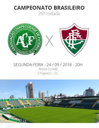 Rodada 26: Chapecoense x Fluminense