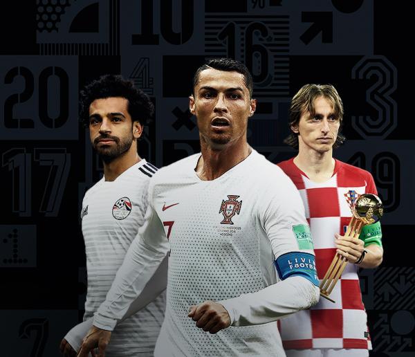 CR7 e Modric têm disputa acirrada por prêmio de melhor do mundo em 2018; Salah corre por fora