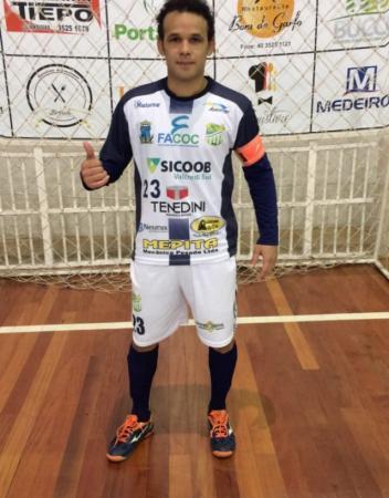 Kleyton paraiba é Selecionado para liga catarinense 2018