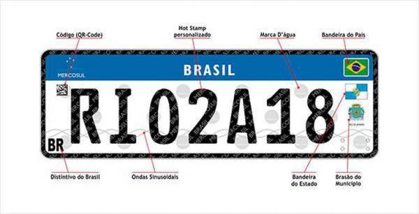 Justiça suspende adoção de placas de veículos do Mercosul