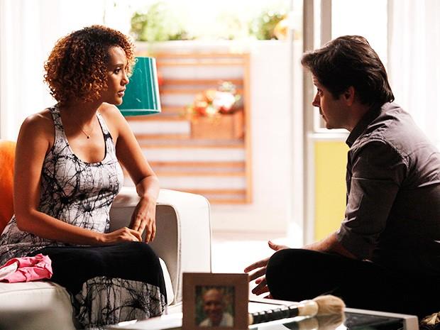Novelas - Jonas se declara para Verônica e pede para ficar perto dos filhos: 'Te amo. Me perdoa'