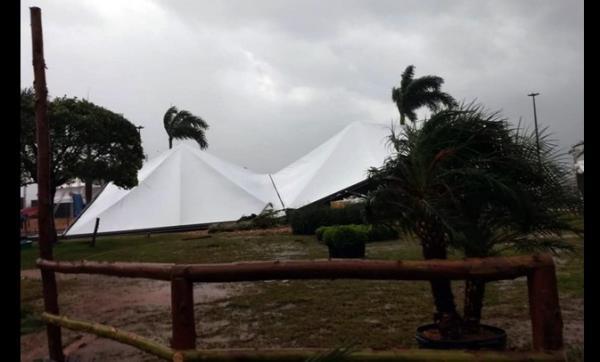 Temporais afetam mais de 2,9 mil pessoas de 17 municípios do Paraná