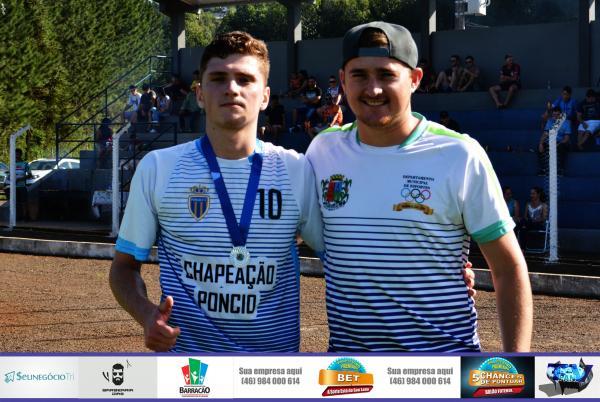 Diego Zanatto é eleito o melhor em campo no confronto de Poncio e Alvorada