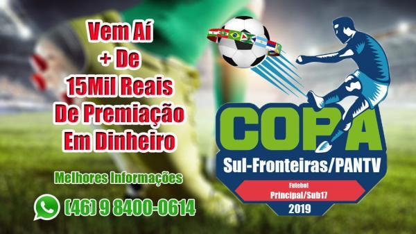 PANTV fecha parceria com LBF e ex-presidente da AESUPAR para Copa Sul-Fronteiras