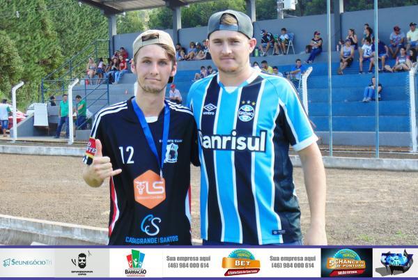 Elison foi eleito o melhor em campo no jogo entre Siqueira Bell e Industrial no Barraconense Aspirante
