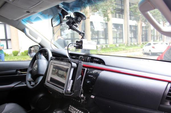 PRE apresenta protótipo de viatura com tecnologia embarcada