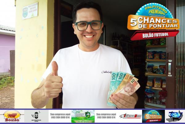 Itamar Soares é o ganhador do 29º Prêmio Palpiteiro Premiado