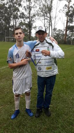 João Picinini é eleito o melhor em campo no empate entre E. C. Industrial C.M e Alvorada