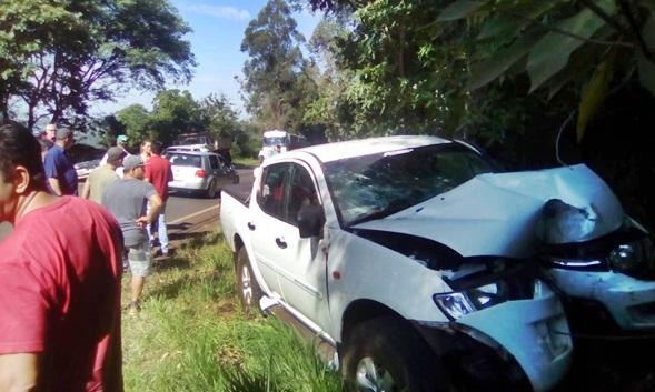 Morre no hospital segunda vítima de acidente na PR-471