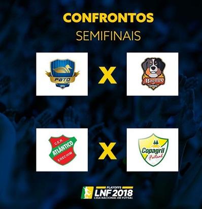 Marechal e Pato estão nas semifinais da Liga Nacional