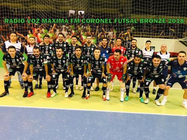 Coronel Futsal conquistou o acesso a Série Prata neste sábado