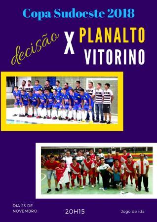 Planalto e Vitorino vão decidir a XVI Copa Sudoeste de Futsal