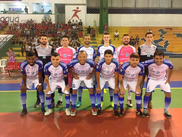 Ampere Futsal está a um empate do acesso a Série Ouro