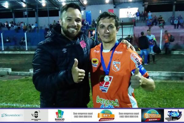 Anderson Canzi é o artilheiro do Barraconense Aspirante 2018