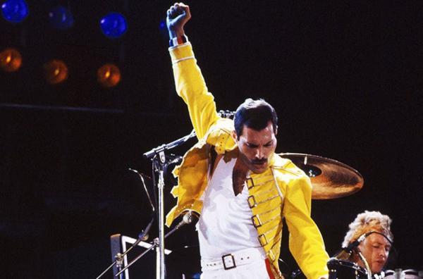 Freddie Mercury banda Queen — Foto: Divulgação
