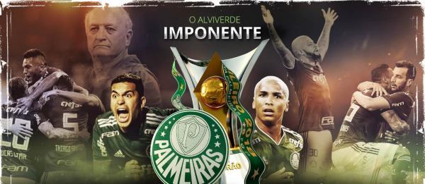 Palmeiras conquista o Campeonato Brasileiro pela décima vez