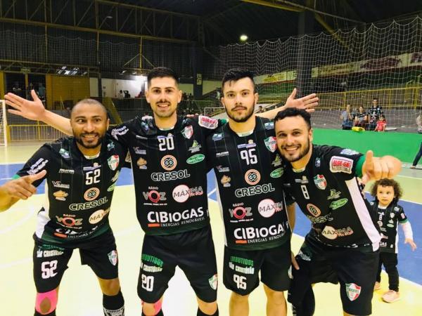 Coronel Futsal vence o Iate Clube Londrina e disputa o título da Série Bronze