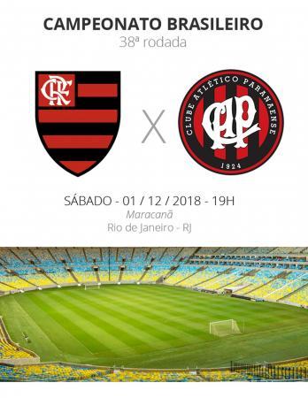Flamengo x Atlético-PR: tudo o que você precisa saber sobre o jogo da rodada #38