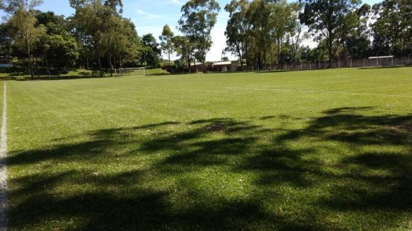 Campo do Palmeirinha está preparado pra o amistoso entre BAC x Chapecoense Máster