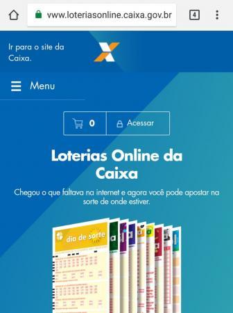 Lançado há 4 meses, site da Caixa para apostas em loterias pela internet atinge 450 mil cadastros