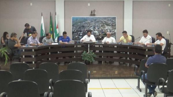 Voto aberto é posto para apreciação na Câmara de Vereadores de Barracão