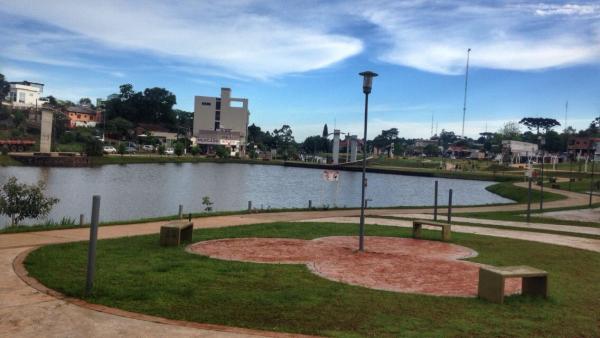 Inauguração do Parque Turístico Ambiental em Barracão