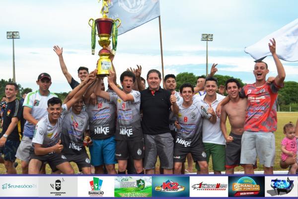 Industrial é campeão do Barraconense Aspirante 2018