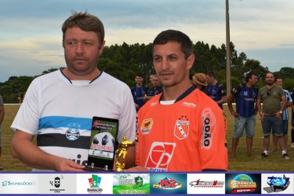 Ventania leva o troféu de destaque e artilharia do Barraconense Aspirante