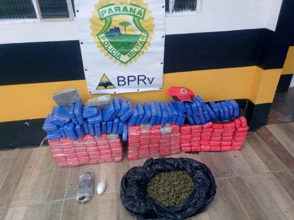 Polícia Rodoviária Estadual apreende drogas na PR-182