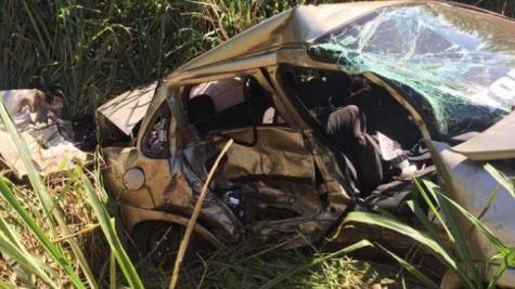 Dois jovens e uma criança morrem em acidente na BR-369