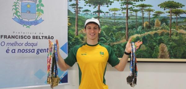 Paratleta beltronense mira Paralimpíadas de 2020