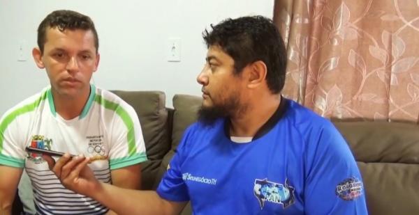 Fernando Lara durante entrevista à Marcos Prudente, diretor da PAN TV/ Reprodução