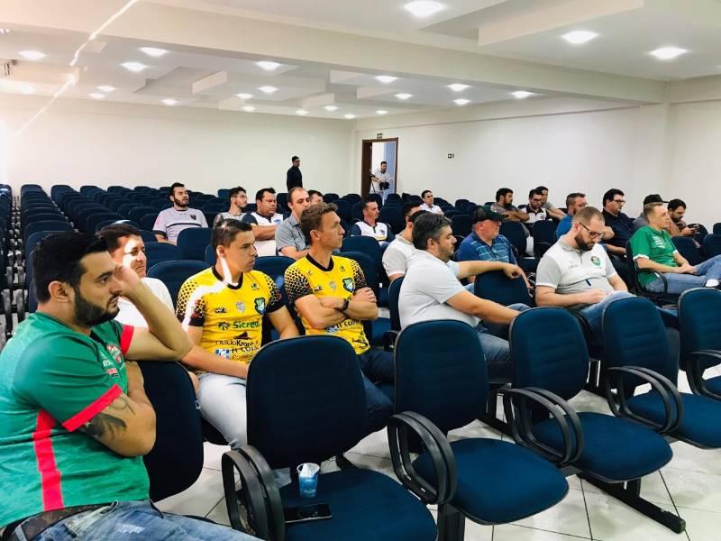 Federação Paranaense de Futsal inicia as atividades do ano pelo Sudoeste
