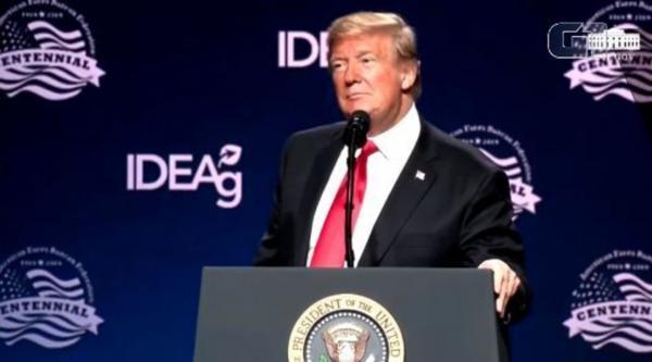 ''Dizem que é o Trump da América do Sul, vocês acreditam?'', diz presidente dos EUA sobre Bolsonaro