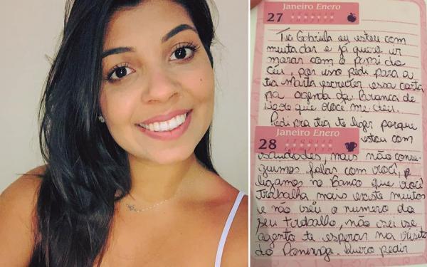 Menina orfã que morreu de leucemia, deixa carta emocionante para voluntária que a visitava