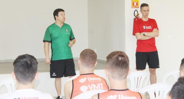 Ronaldo Germano é o novo fisiologista do Cresol/Marreco