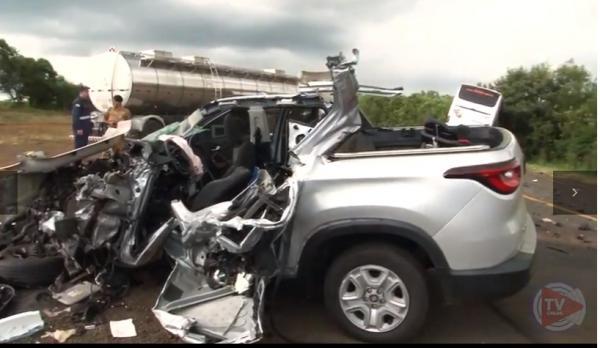 Professora morre em acidente na BR-373