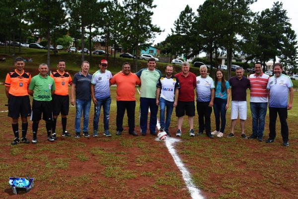 Prefeitos dos municípios do Consórcio Intermunicipal de Fronteira (CIF) prestigiam abertura da Taça CIF