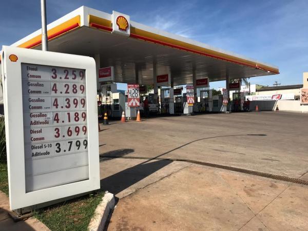 Petrobras aumenta preço da gasolina em 1,57%