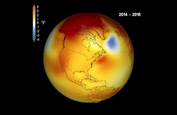 Nasa anuncia que 2018 foi o quarto ano mais quente da história