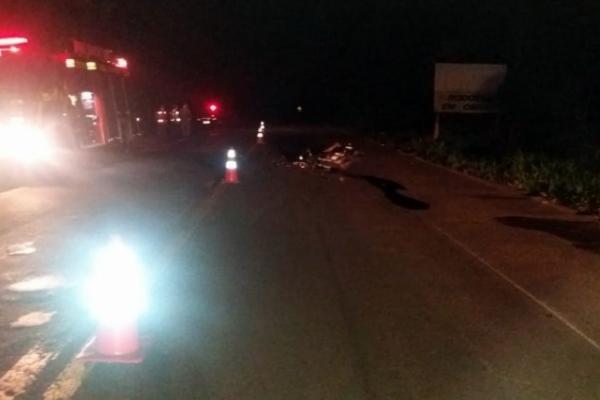 Jovem morre em acidente na BR-158
