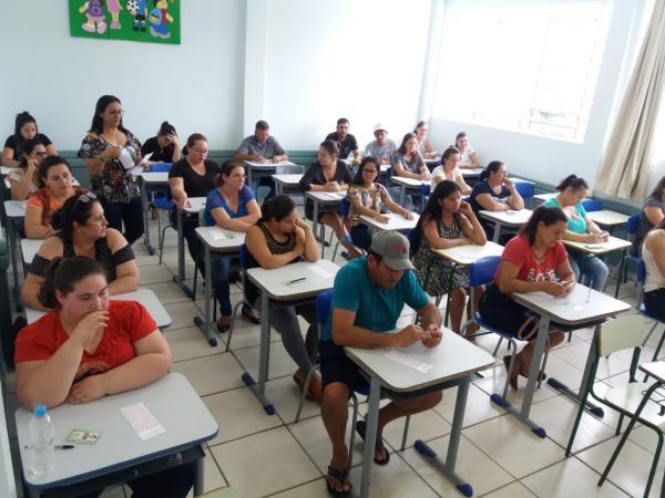 Barracão- Processo Seletivo para a área da Educação ocorreu ontem