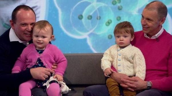 O surpreendente caso dos gêmeos que têm pais diferentes