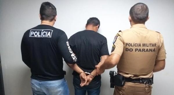 PM prende suspeito de assassinar empresário em Santo Antônio do Sudoeste