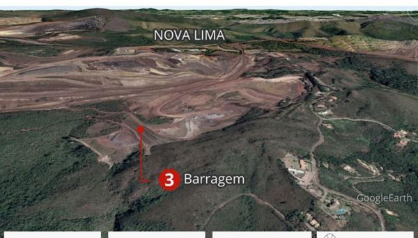 Cerca de 200 moradores de Nova Lima, são obrigados a sair de suas casas por precaução com barragem da Vale
