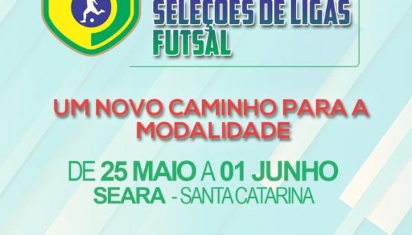 Liga Catarinense realiza 1° Brasileiro de Seleções em SC