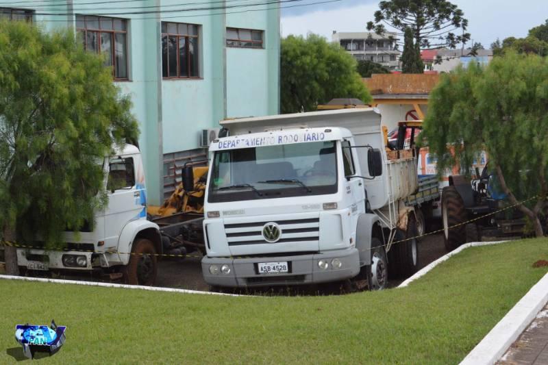 Barracão - Renovação da frota de veículos