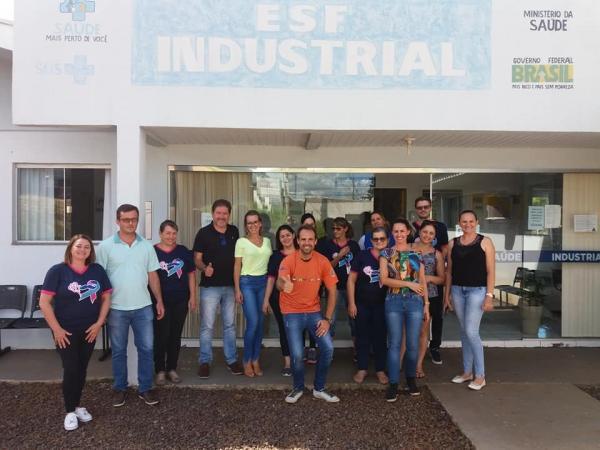 Barracão-Dr. Péricles Grebos termina o ciclo no ESF do Bairro Industrial